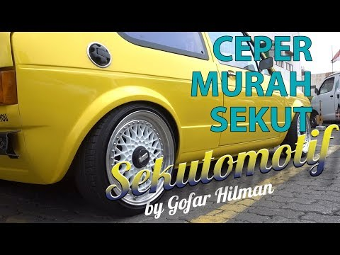 #SEKUTOMOTIF MIDUN JAYA SPRING - CEPER MURAH SEKUT!
