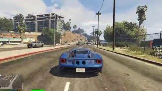 Grand Theft Auto V 1.0.617.1 with Speed Test on Dell XPS 8700