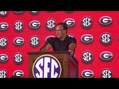 Tom Crean SEC Media Day, @MikeGriffith32 video