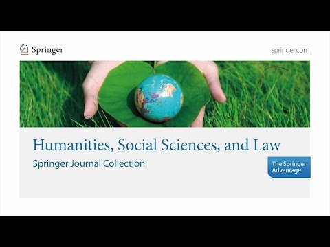 Humanities, Social Sciences, and Law - Springer Journal Collection