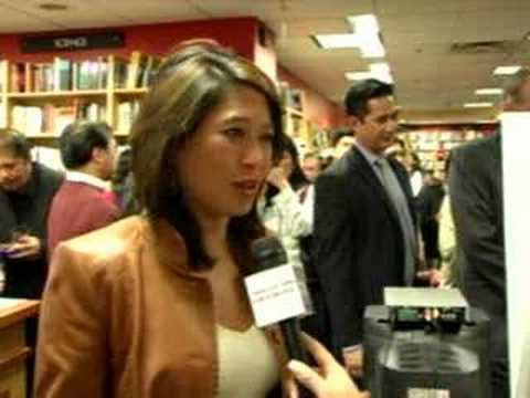 ABC 7's Nina Pineda's Quote at Carissa's Borders Launch