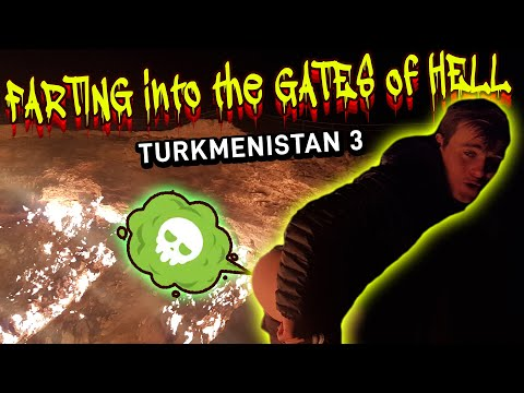 Turkmenistan:  Farting On Giant Soviet Gas Crater