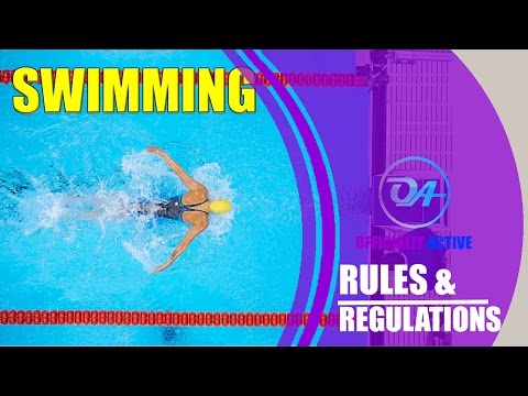 Basic Rules and Regulations of Swimming