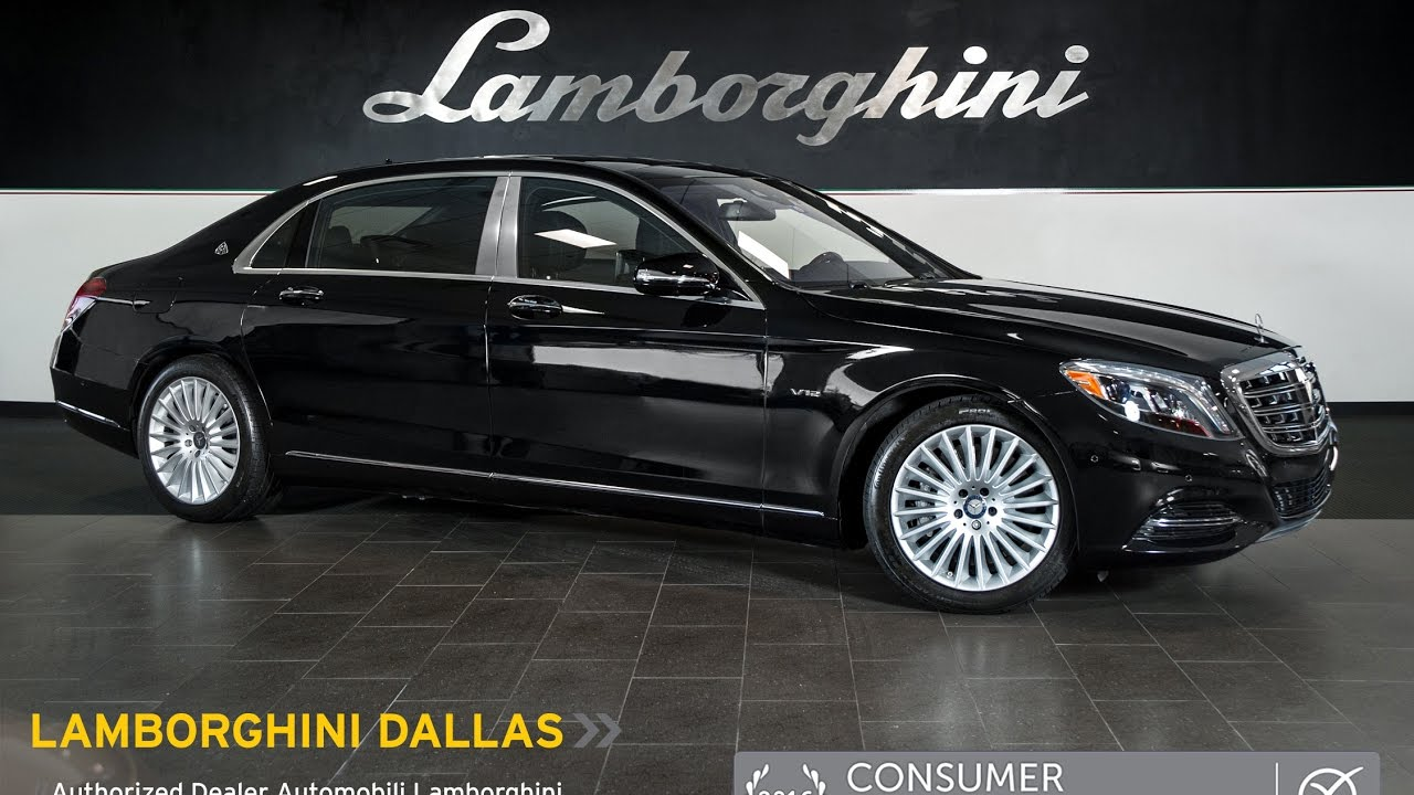2016 mercedes benz maybach s600 black lt1007 youtube for Mercedes benz s600 maybach
