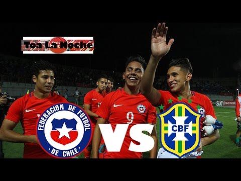 Chile vs Brasil (Sudamericano SUB-17)
