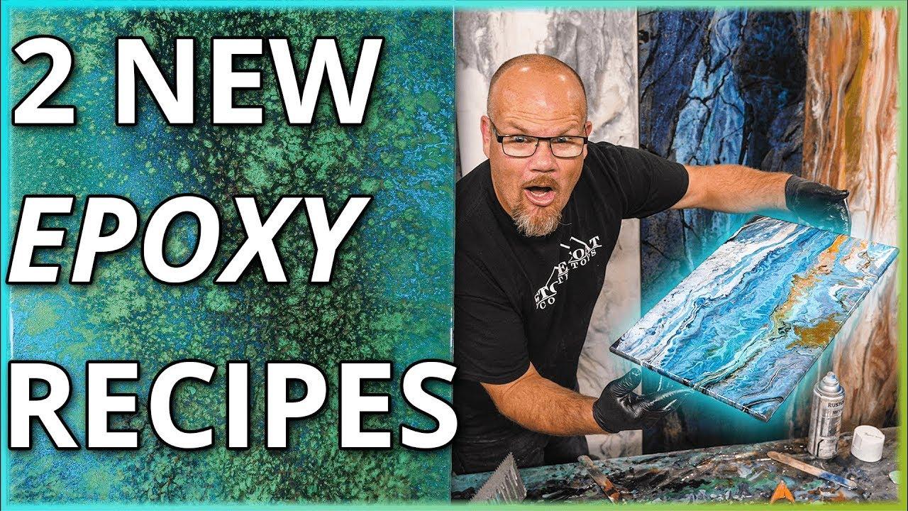2 New Epoxy Recipes   Stone Coat Countertops