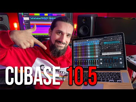 The New Cubase 10.5- The best just got better! What's New!