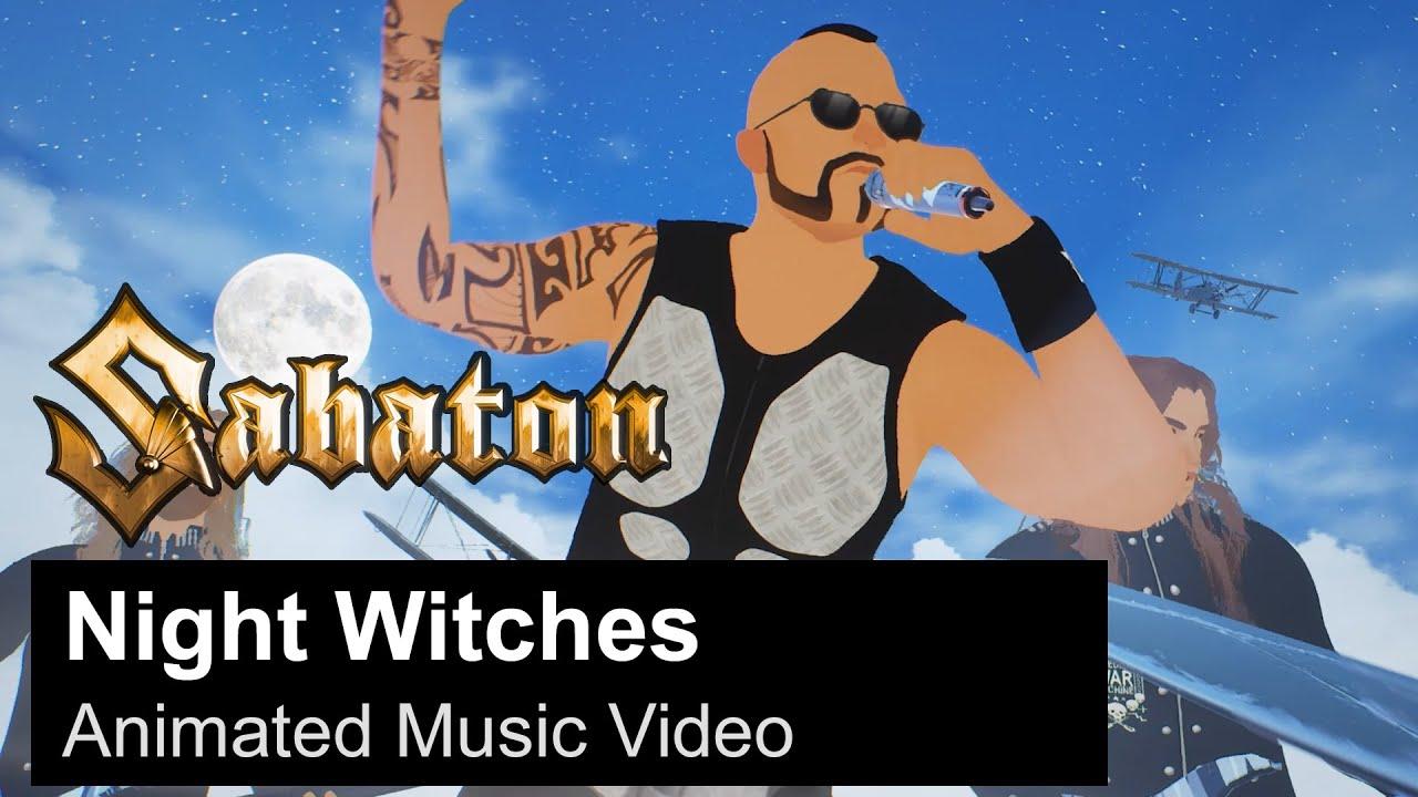 SABATON   Night Witches Animated Music Video