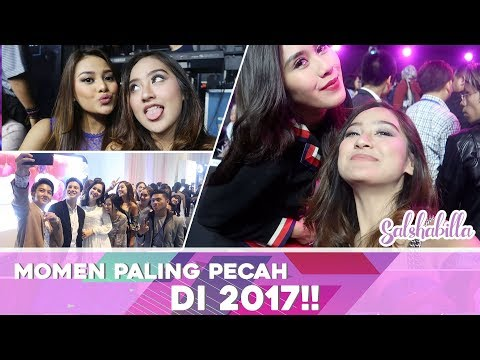 Salshabilla #VLOG - MOMEN TER-PECAH DI 2017!! (Launching Vivo V7 Plus)