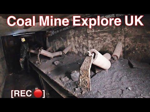 COAL MINE EXPLORATION U.K. -East Midlands-
