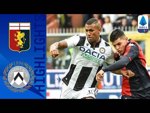 Genoa 1-3 Udinese | Two Late Goals Earn Udinese Victory | Serie A