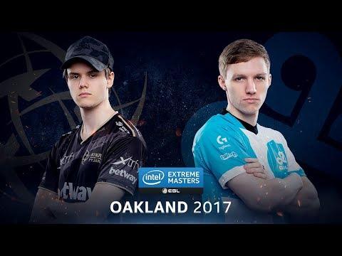 CS:GO - NiP vs. Cloud9 [Overpass] - Group A Round 3 - IEM Oakland 2017