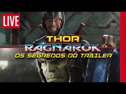 OS SEGREDOS DE THOR RAGNAROK   Análise do Trailer