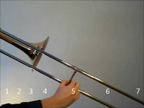 Learn to play the Db Major scale on trombone