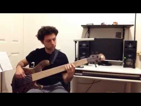 Solo bass groove