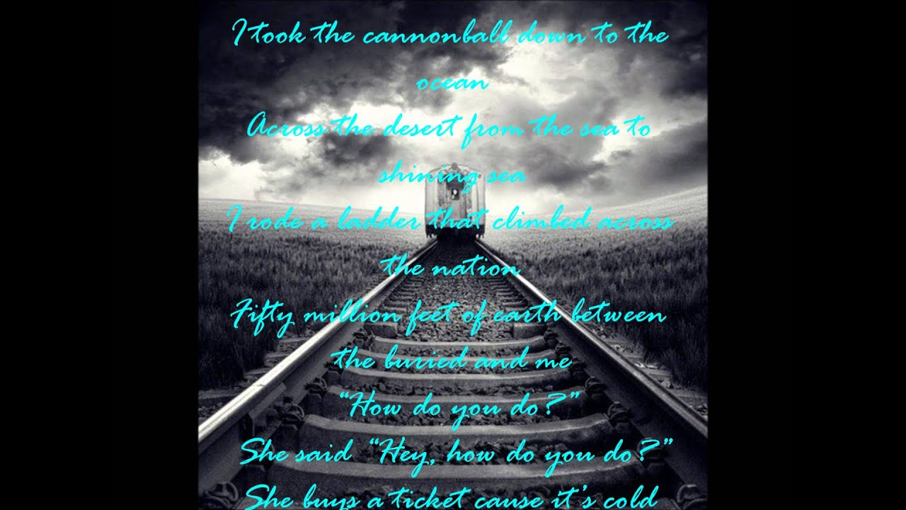 Counting Crows: Ghost Train (with lyrics!!) - YouTube