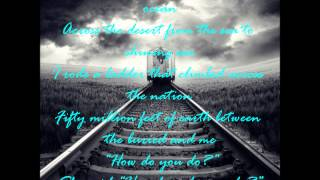 Counting Crows: Ghost Train (with lyrics!!)