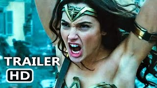 WONDER WOMAN Official Trailer # 3 (2017) Gal Gadot Action Movie HD
