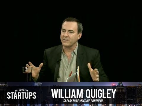 - Startups - William Quigley, Clearstone Venture Partners