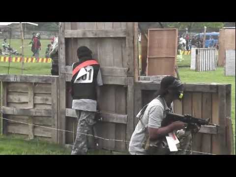 Airsoft Speedball tournament Lock and Load 4 Airsoft team KSAF in Davao City