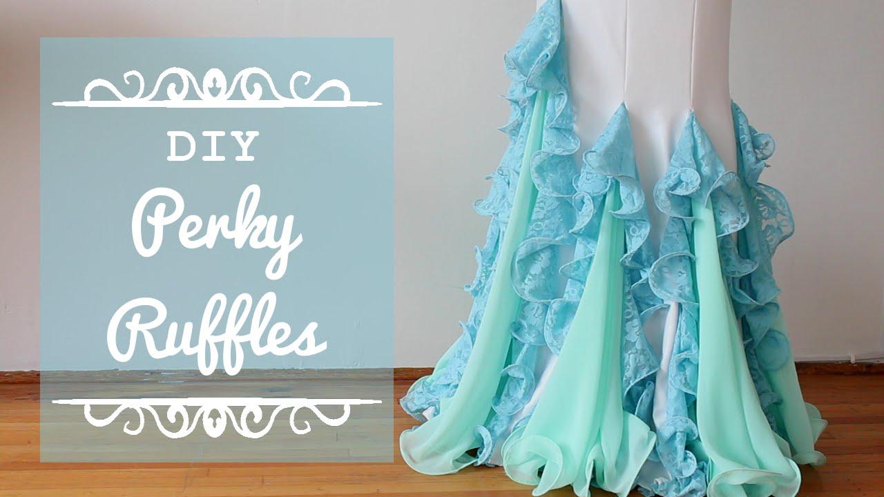 Perky Ruffles DIY