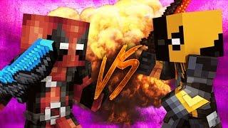 Deadpool vs deathstroke in minecraft | deathbattle corto