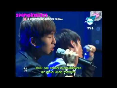 [INDO SUB] SHINee Jonghyun Feat Onew - Like A Man