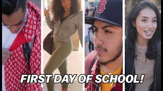 What are college students REALLY wearing on the first day?