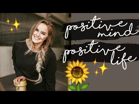 DAY IN THE LIFE VLOG + HOW TO BE MORE POSITIVE 🌻 Personal Development Tips & Cute Animals