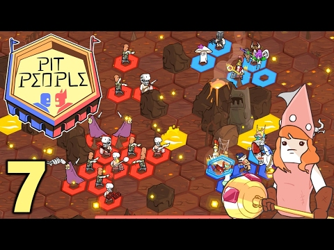 [7] Zombies and Spidaurs! (Let's Play Pit People Co-op)
