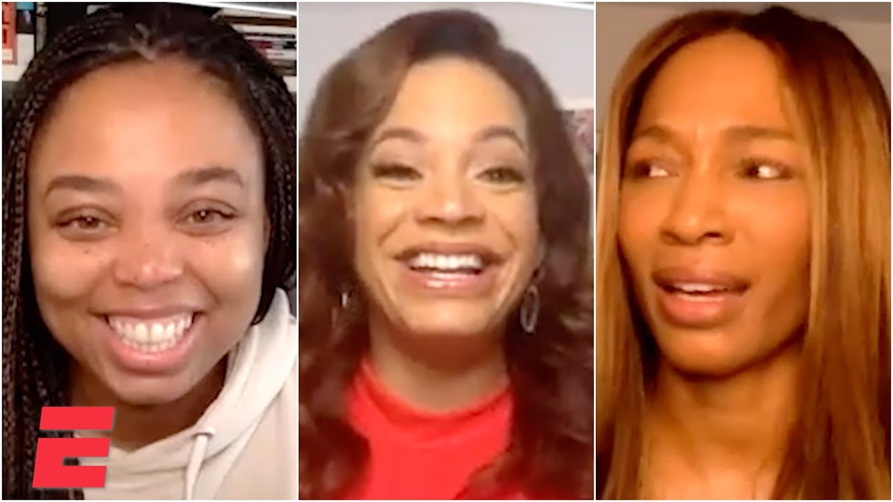 Jemele Hill & Cari Champion dish on being 'Big Time'd' by Tyson Beckford and Jon B wit