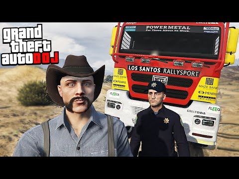 GTA 5 Roleplay - DOJ 51 - XL Rally Trucks