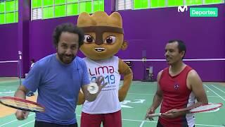 Clase maestra junto a Raul Castañeto: Badminton en la Videna