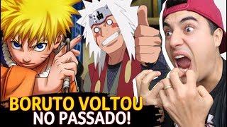 BORUTO VOLTOU AO PASSADO FINALMENTE! Boruto 128 - Fred   Anime Whatever