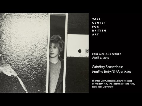 "Paul Mellon Lecture | ""Painting Sensations: Pauline Boty/Bridget Riley"""