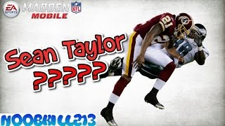 Madden Mobile 16 Sean Taylor??? What Just Happen??