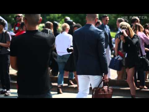 Milan SS14 - Street Style -- The Details -- MR PORTER At The Shows