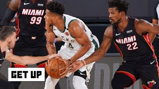 Heat vs. Bucks Game 1 reaction: 'The Bucks are in trouble' - Tim Legler | Get Up