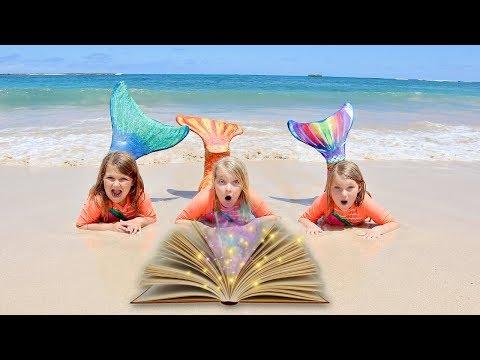 WE ARE MERMAIDS! Magic Spell Book