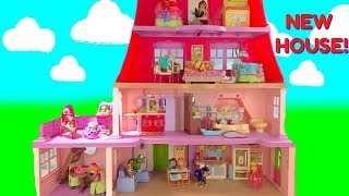 Paw Patrols's New Big House with Nursery