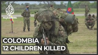 Reports Children Killed In Colombian Army Bombing Spark Outrage Youtube