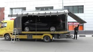 видео перевозка автомобиля