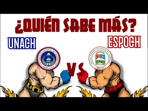 Quien Sabe Más ESPOCH VS UNACH| ¡El RETO!