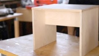 How To Make A Step Stool || Kin Parents