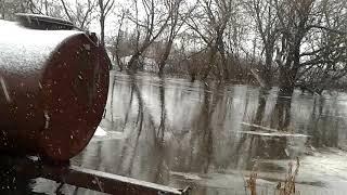 Разлив реки Осередь,г.Бутурлиновка.ул.Коммунистическая