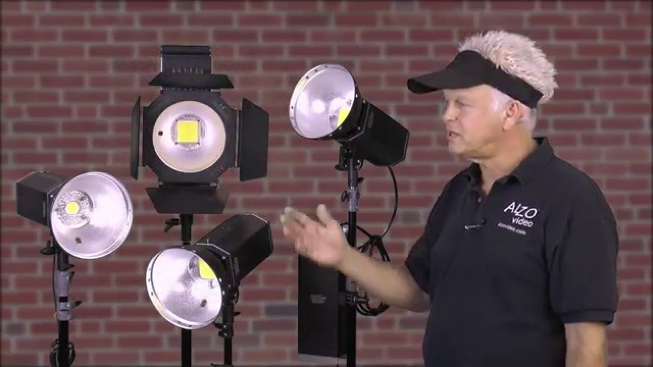 Alzo 3000 Series High Intensity Led Video Lights Compared