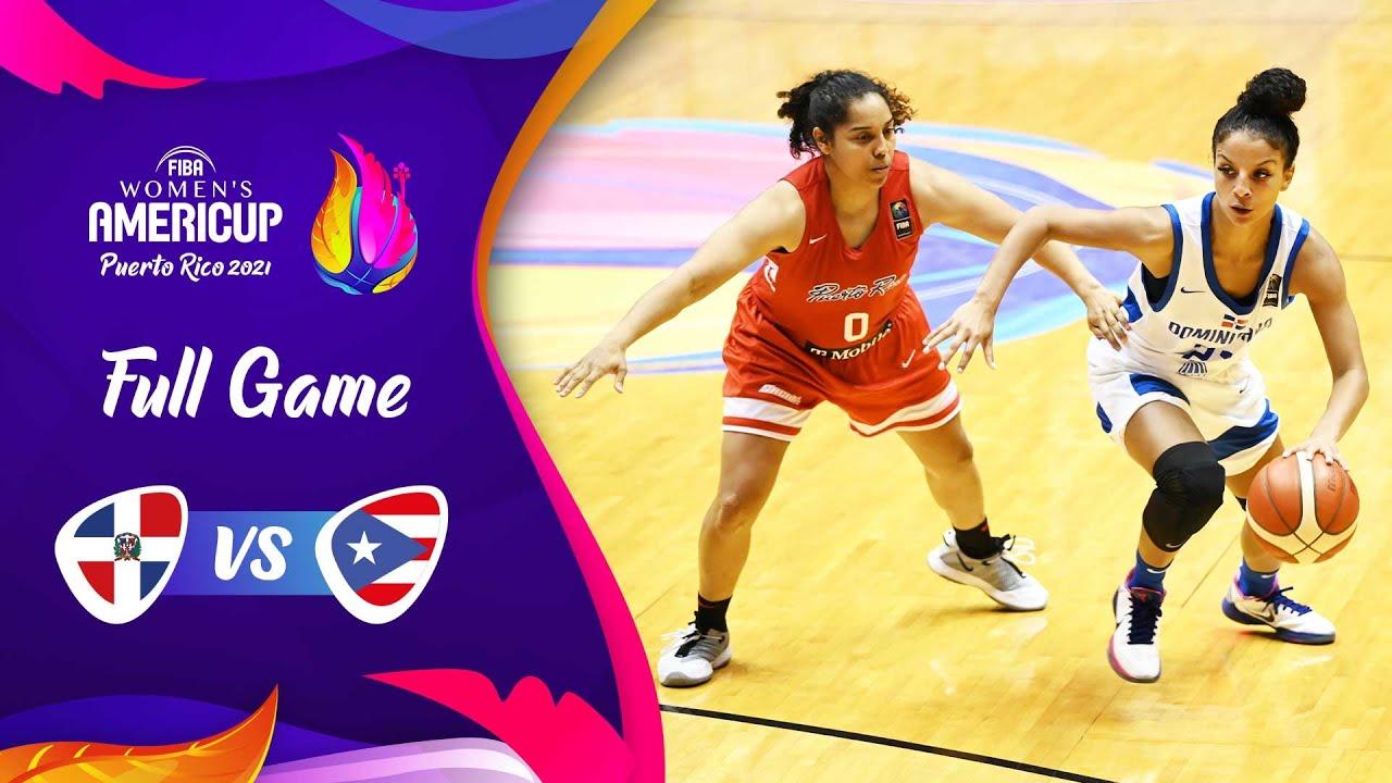 Dominican Republic v Puerto Rico | Full Game - FIBA Women's AmeriCup 2021