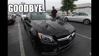 Saying a final goodbye to my AMG C63s.. What