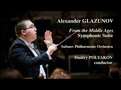 "Glazunov: From the Middle Ages, Symphonic Suite LIVE (HD) • Глазунов Сюита ""Из средних веков"""