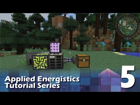 Applied Energistics 2 Tutorial #5 - Bus and Drive